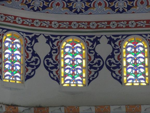 Cami Alçı vitray pencere